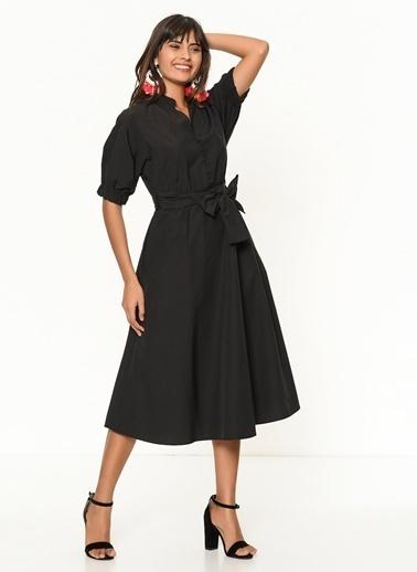 Matmazel Elbise Siyah